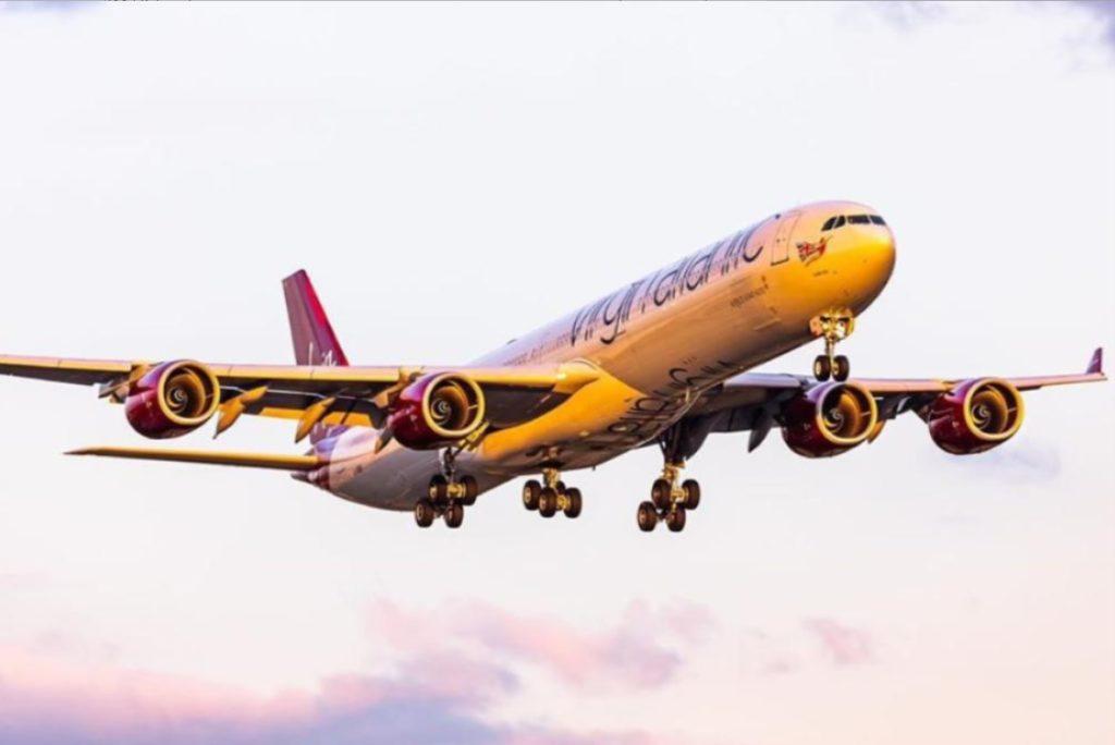 Avião Airbus A340-600 Virgin Atlantic