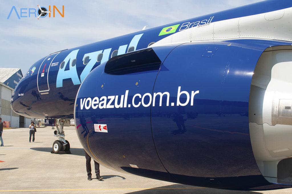 Embraer E195-E2 da Azul