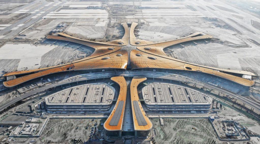 Pequim Daxing Terminal Fenix Estrela