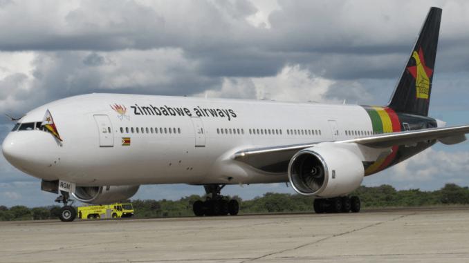 Boeing 777 Zimbabwe
