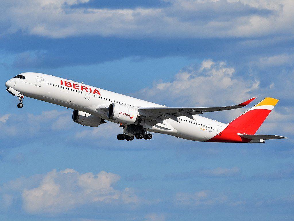 Avião Iberia Airbus A350-900