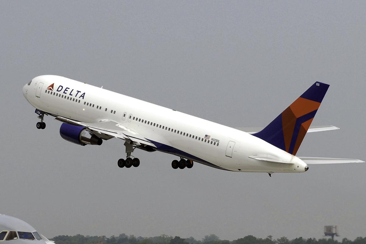 Avião Delta Air Lines Boeing 767-400