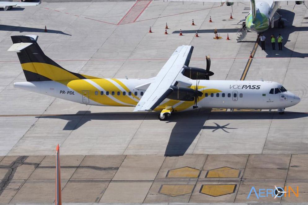 Avião ATR 72 VoePass