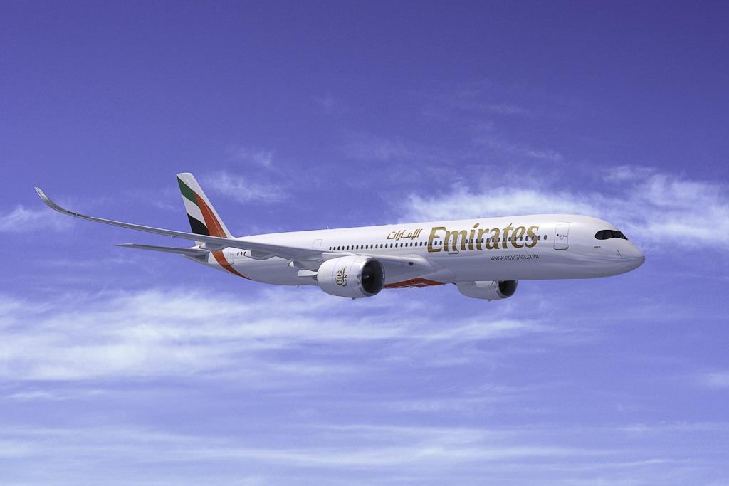 Avião Emirates Airbus A350-900