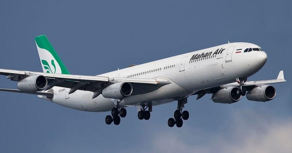 Airbus A340 Mahan Air Aérea Iraniana