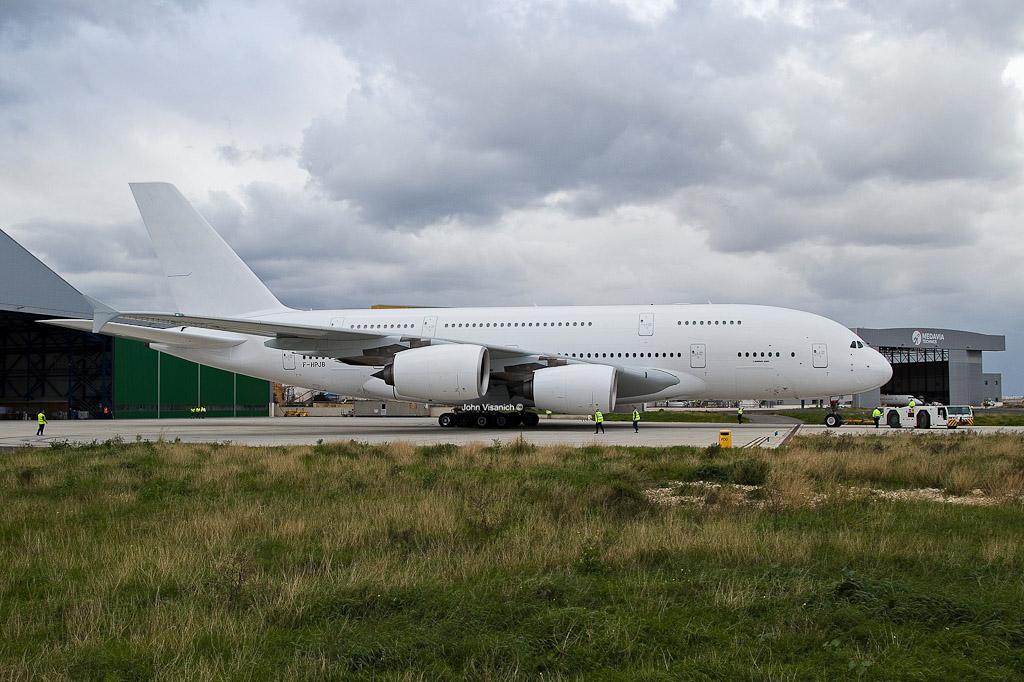 A380 Air France Pintura Branca Malta