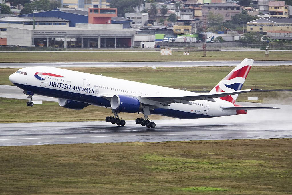 Avião Boeing 777-200 British Airways