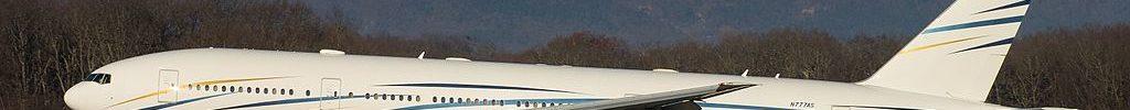 N777AS Boeing 777-200 Mid East Jet