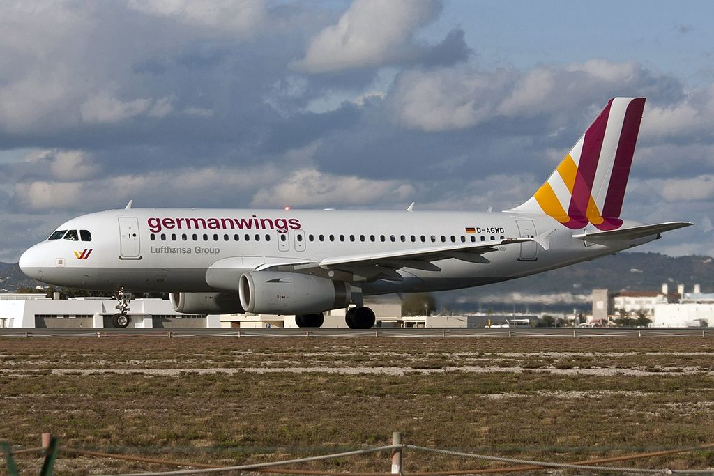 Avião Airbus A319 Germanwings