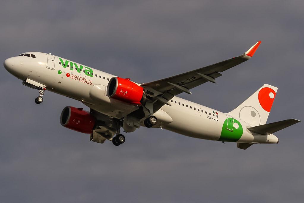 Avião Airbus A320neo Viva Aerobus