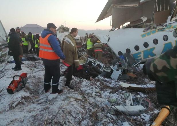 Acidente Fokker 100 Bek Air Almaty