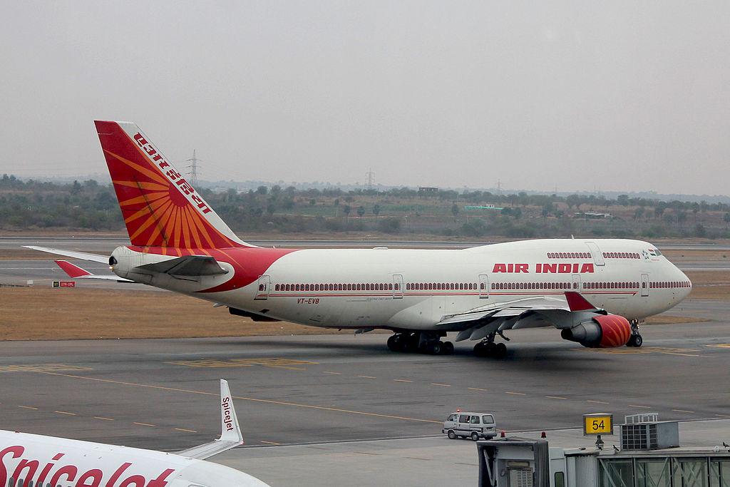 Avião Boeing 747-400 Air India