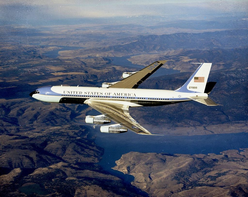 Avião Boeing 707 Air Force One
