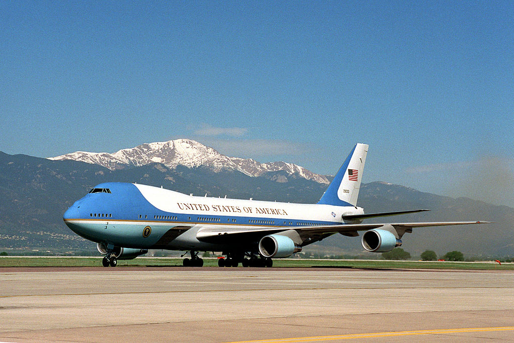 Avião Boeing 747-200 VC-25A Air Force One