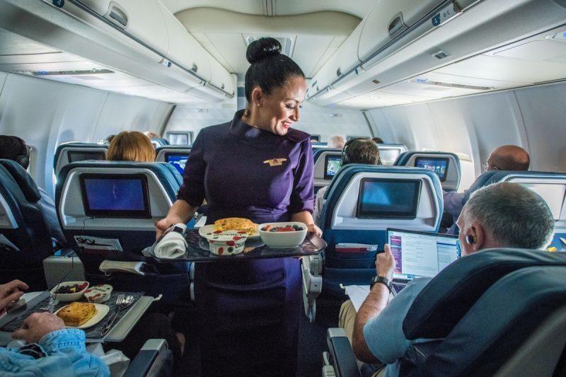 Comissária Delta Air Lines