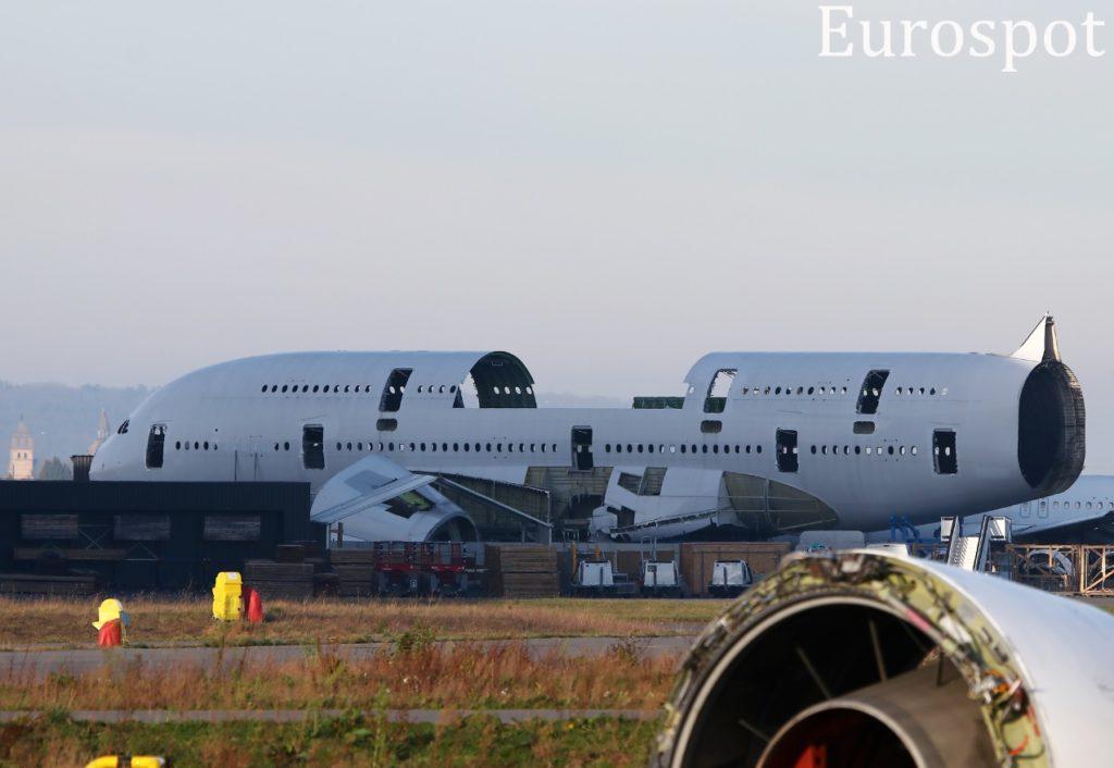 Primeiro A380 desmontado na história