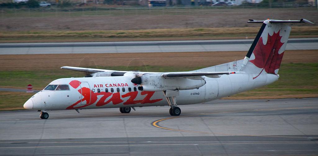 Avião Air Canada Jazz De Havilland DHC-8-300 Dash 8