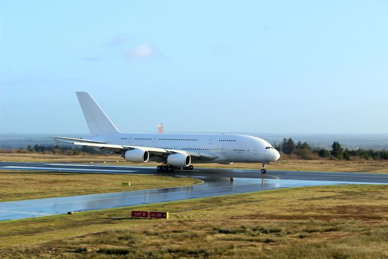 A380 Air France último voo Irlanda