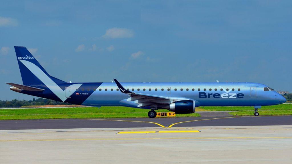 Avião Embraer E195 Breeze Neeleman