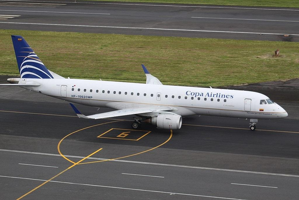 Copa Airlines Avião Embraer E190