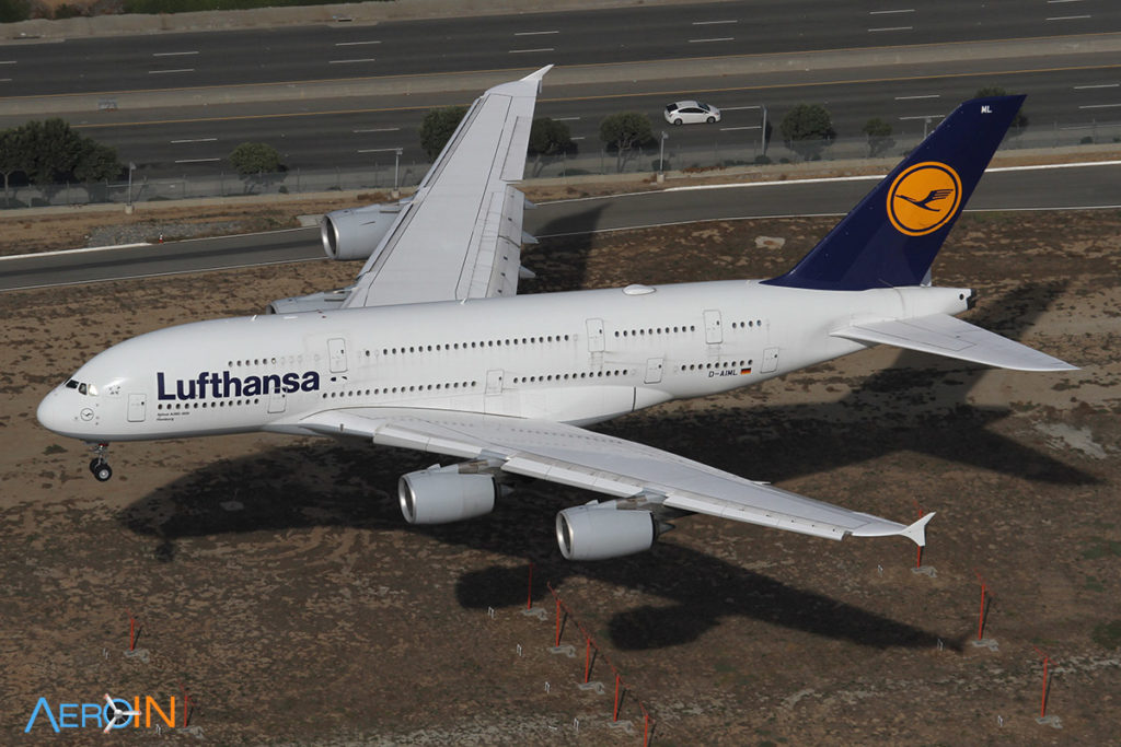 Airbus A380 da Lufthansa