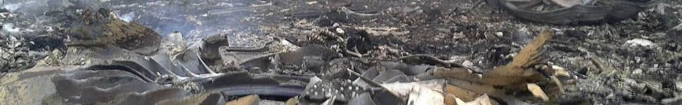 Malaysia Airlines 777-200 MH17 Crash Site