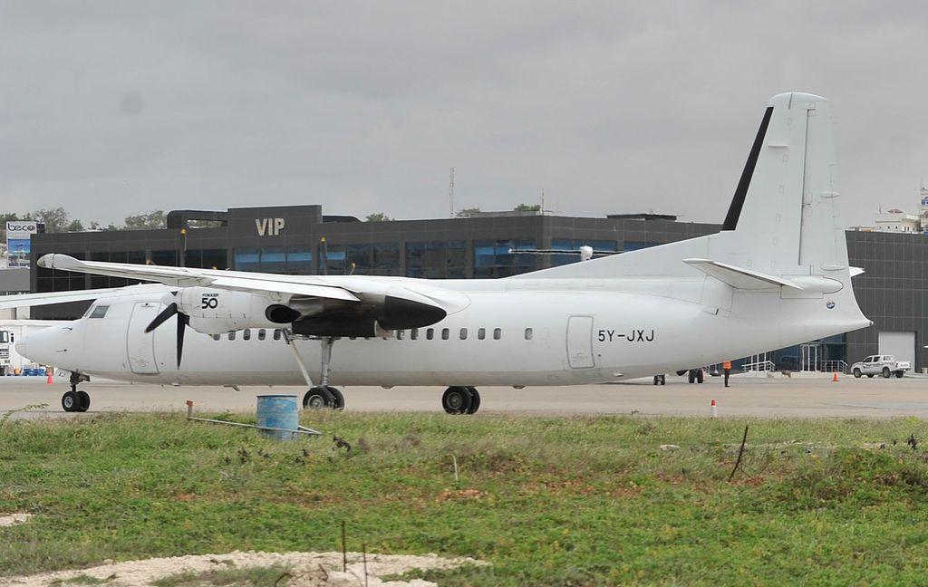 Skyward Avião Fokker 50