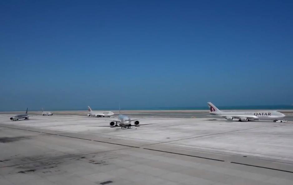 Vídeo Qatar Airways Cargueiros China