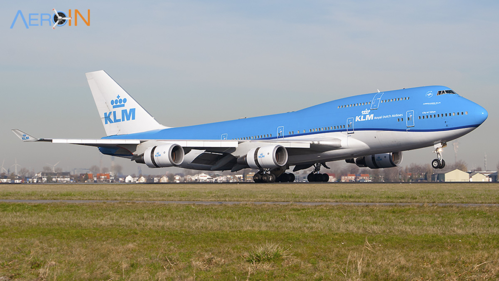 Avião Boeing 747-400