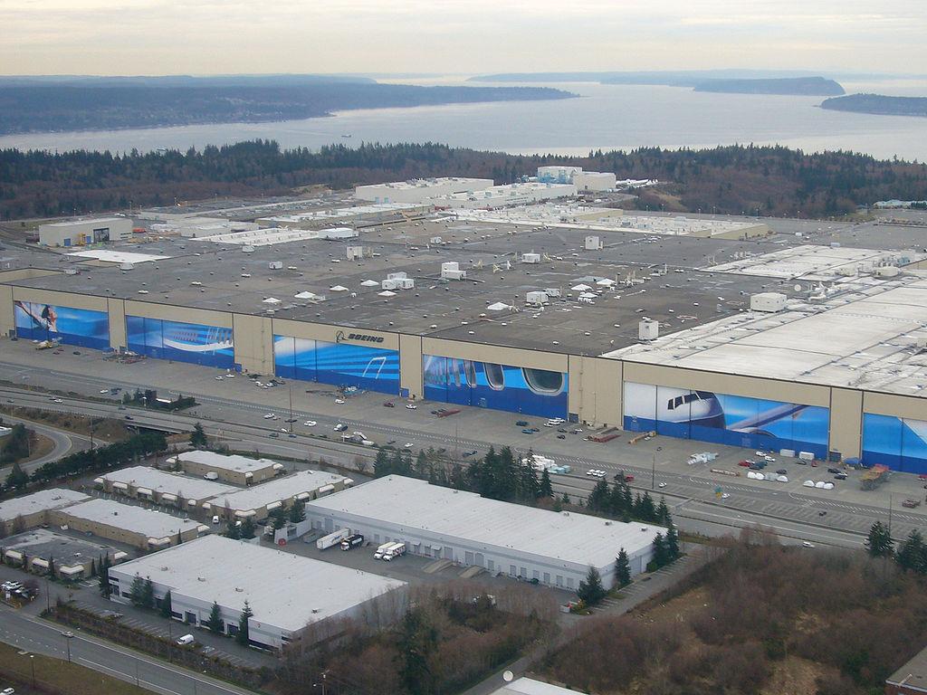 Boeing Fábrica Everett
