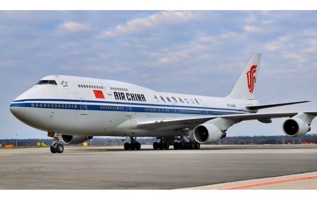 Boeing 747-400 Air China Voo Milão Coronavírus