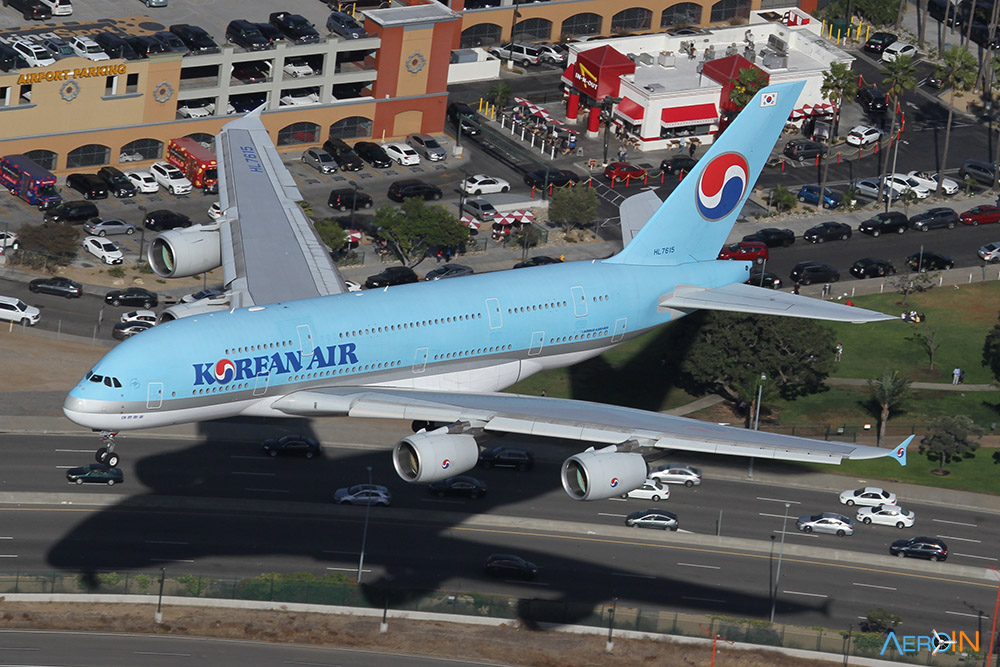 Avião Airbus A380 Korean Air