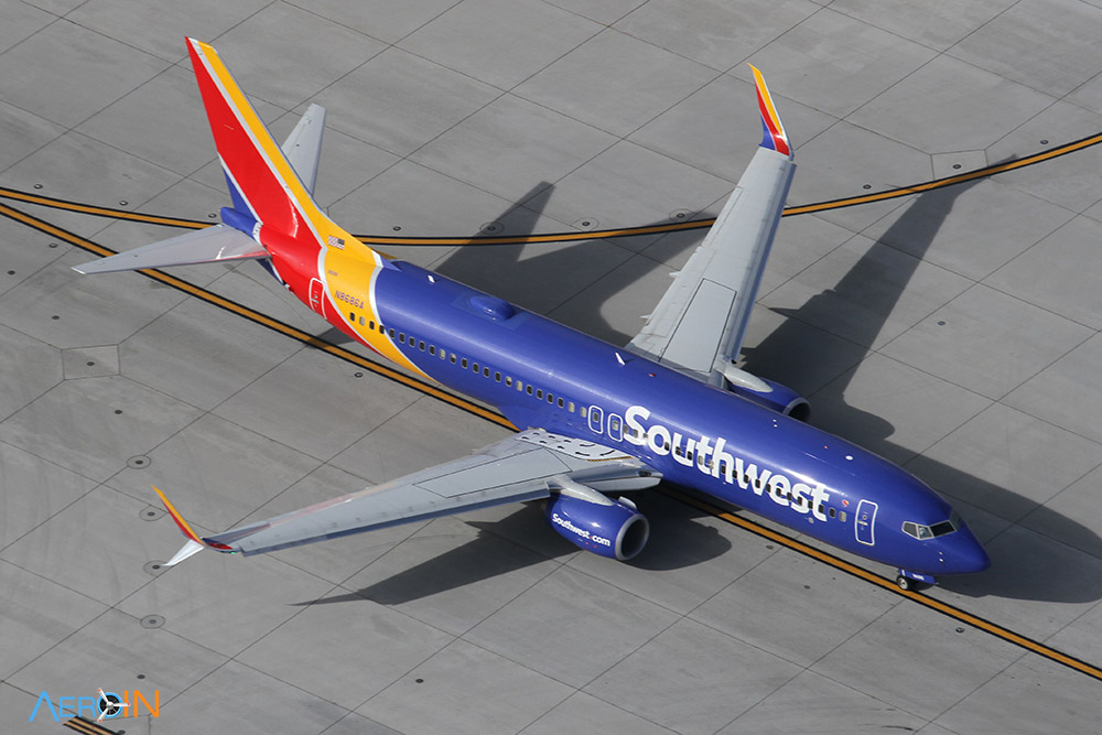 Avião Boeing 737 Southwest