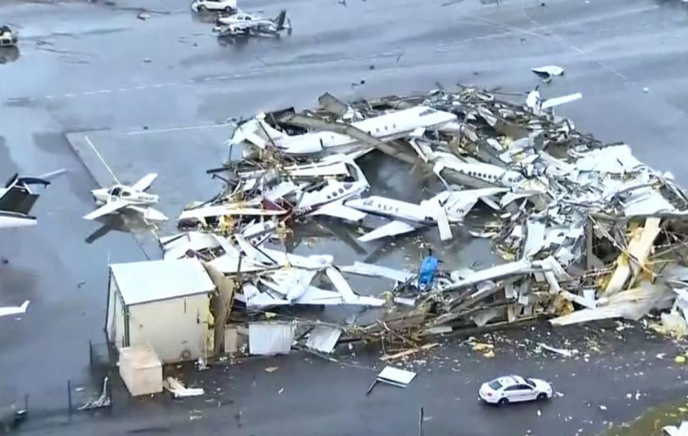 Aeroporto Nashville Tornado
