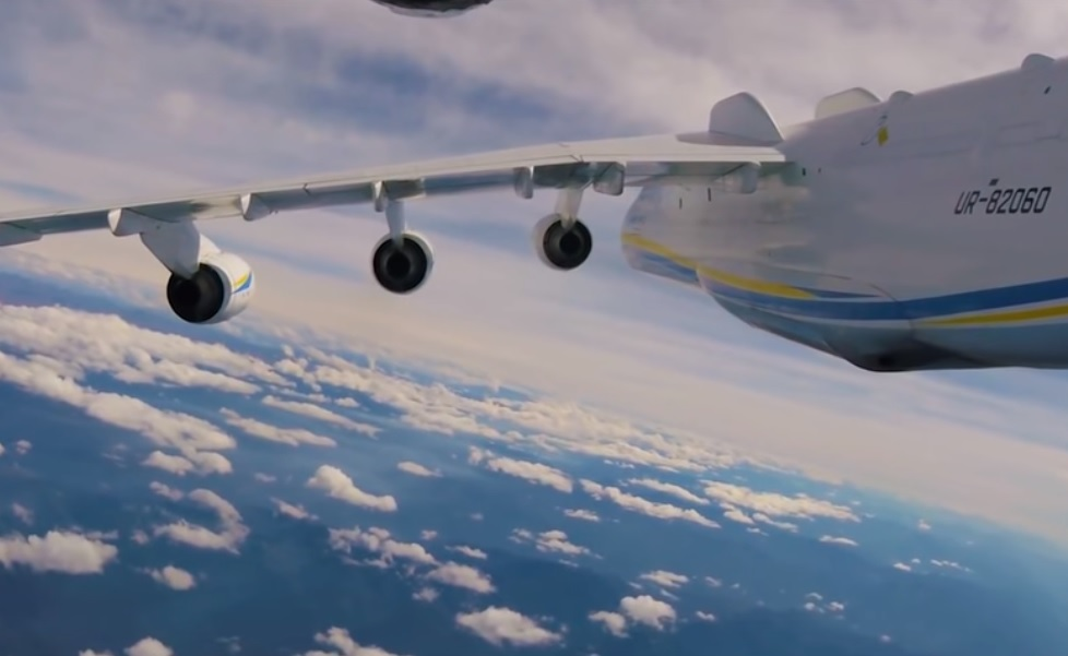 Vídeo Voo Antonov AN-225 Mriya