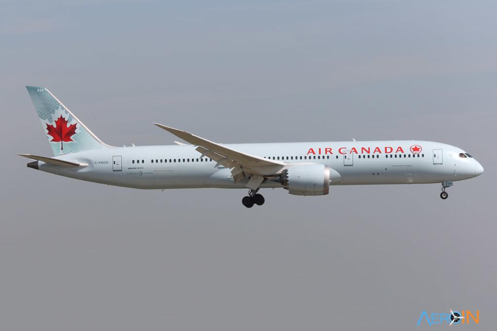 Avião Boeing 787-9 Air Canada
