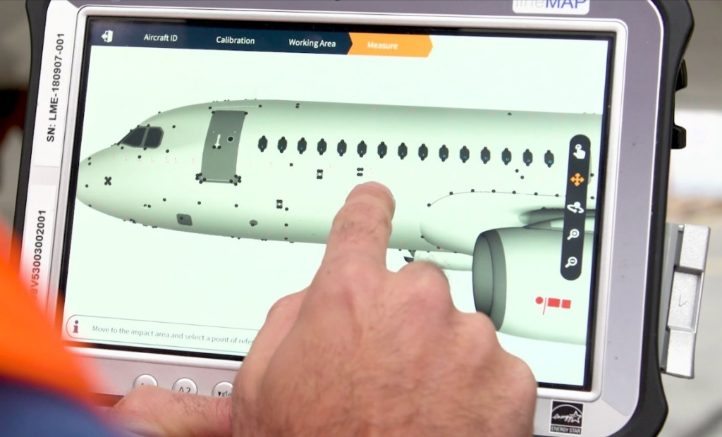 Airbus eTech 3D Repair Solução Digital Reparos