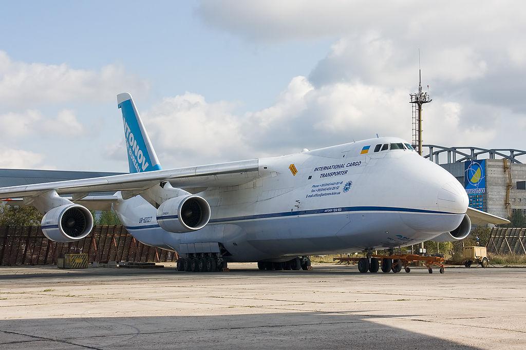 Avião Antonov AN-124 Ruslan
