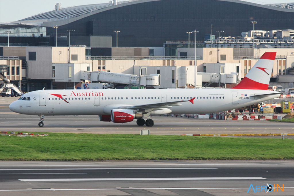 Avião Airbus A321 Austrian Airlines