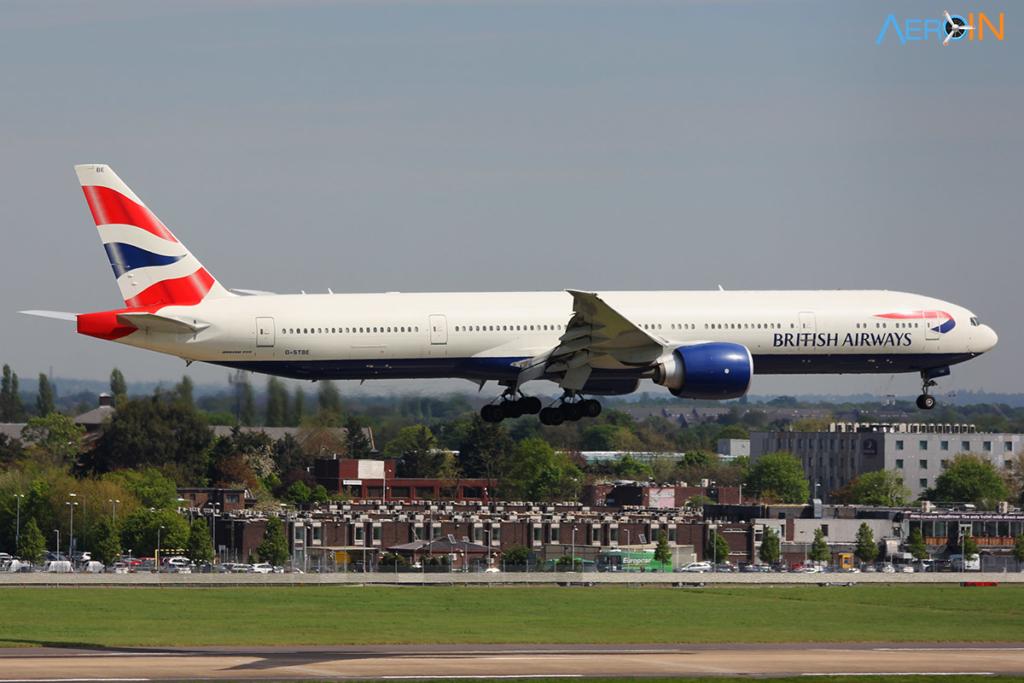 Avião Boeing 777-300ER British Airways