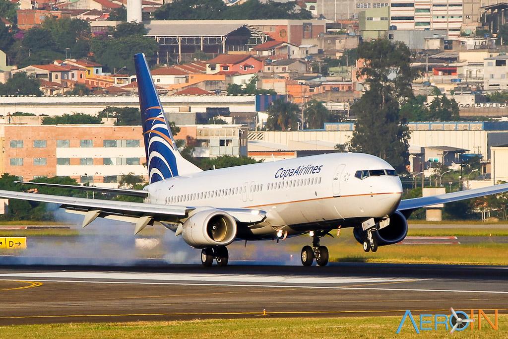 Avião Boeing 737-800 da Copa Airlines