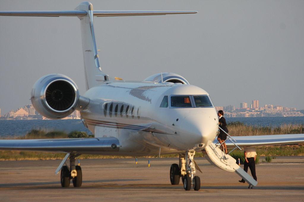 Avião Jato Executivo Gulfstream
