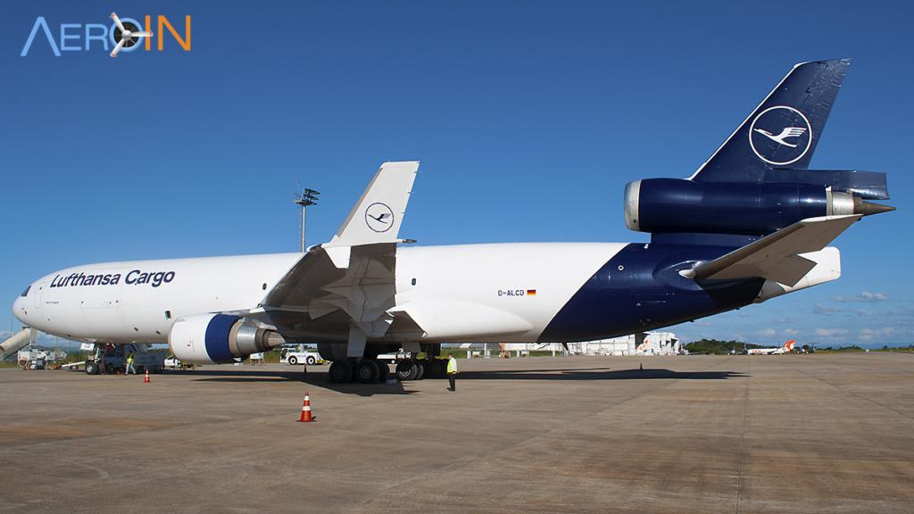 Avião MD-11F Lufthansa Cargo