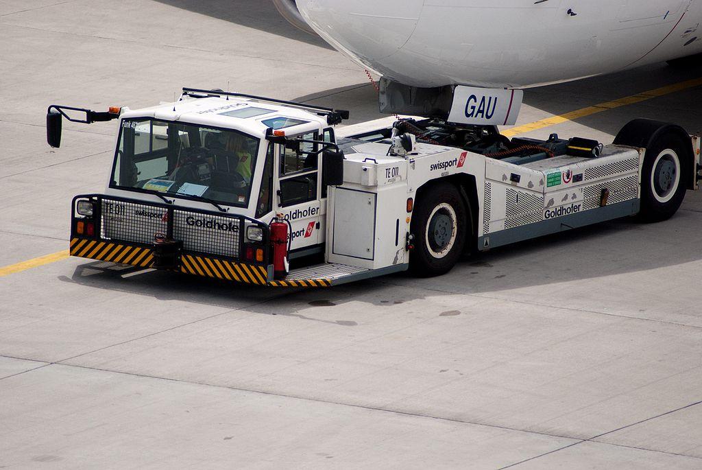 Trator Pushback Reboque Aeronaves
