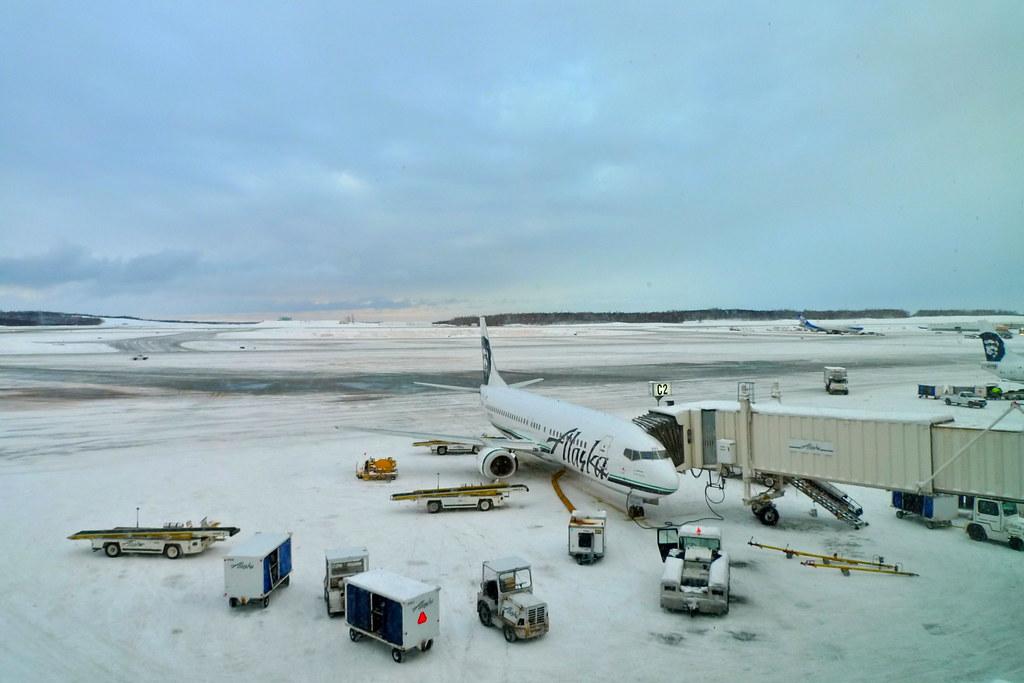 Aeroporto Anchorage Ted Stevens Alasca