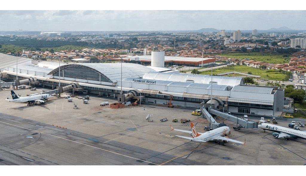 Aeroporto Fortaleza Pátio Aeronaves