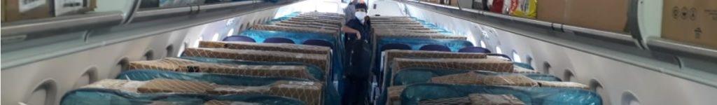 Azul A320neo transporte carga