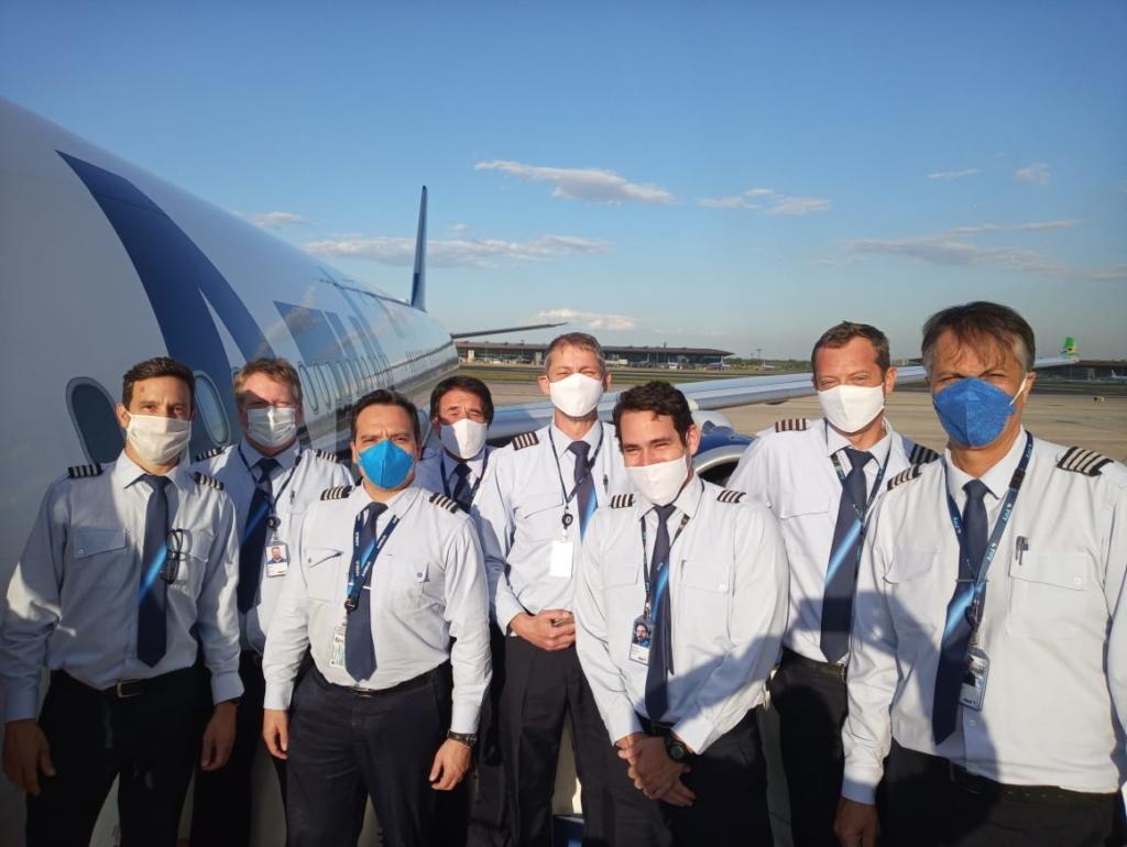 Tripulação A330neo Azul Pequim China