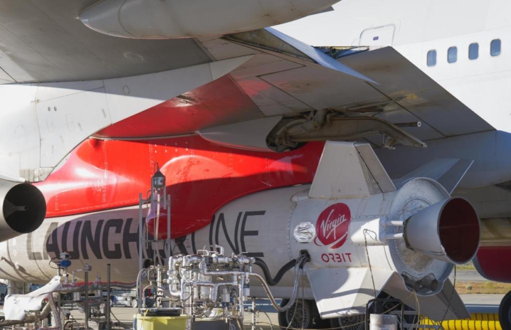 Foguete Virgin Orbit Asa 747 Cosmic Girl