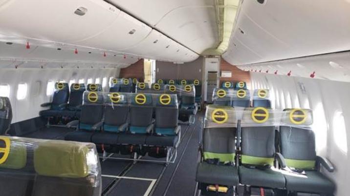 LATAM 777-300ER Passageiros Reconfigurado Carga